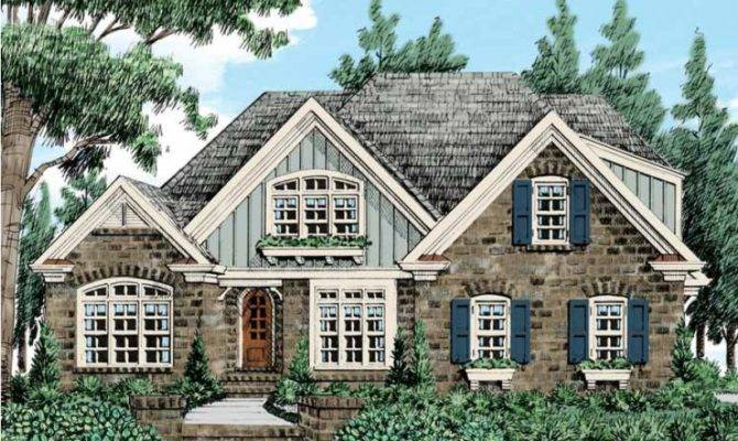 Eplans French Country House Plan European Cottage Warmth