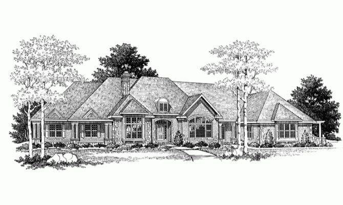 Eplans French Country House Plan Ranch Square