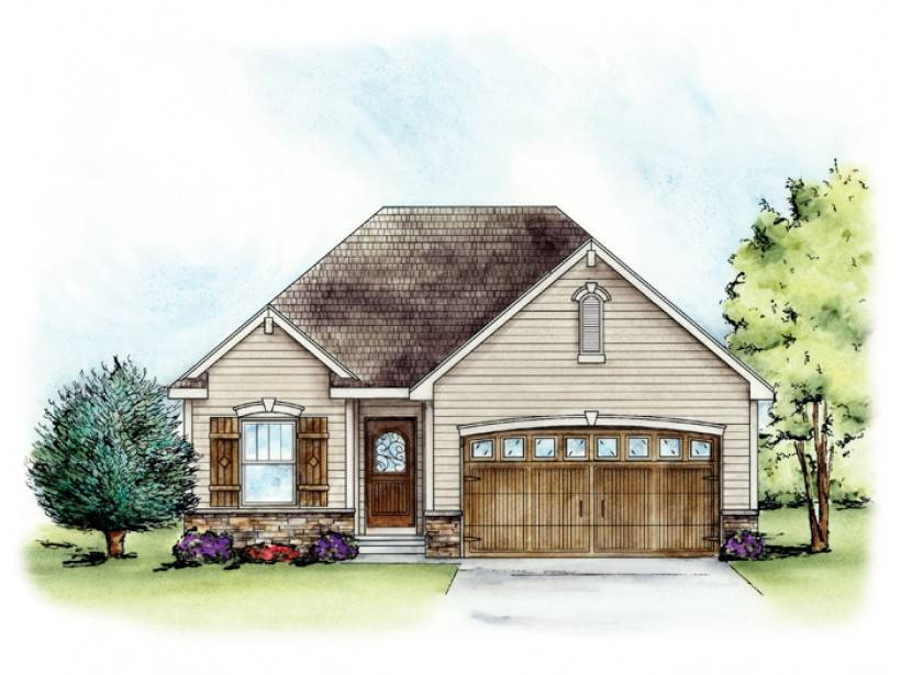 Eplans French Country House Plan Sensible Comfort Square
