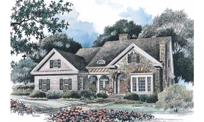 Eplans French Country House Plan Sparkling Sunroom Square