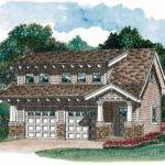Eplans Garage Plan Craftsman Carriage House Square Feet