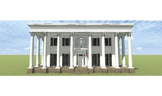 Eplans Greek Revival House Plan Historic Reimagined