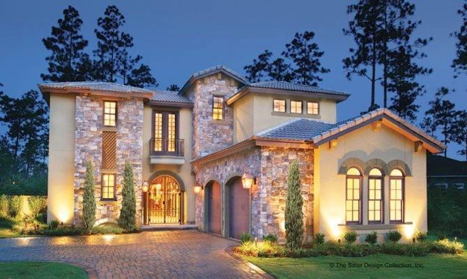 Eplans Mediterranean House Plan Courtyard Luxury