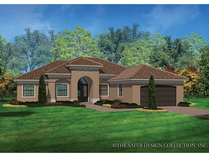 Eplans Mediterranean Modern House Plan Casual Style