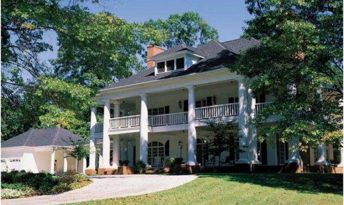 Eplans Neoclassical House Plan Grand Southern Mansion Square