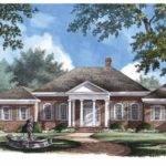 Eplans Neoclassical House Plan Mount Ellen Square Feet