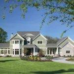 Eplans Neoclassical House Plan Three Bedroom