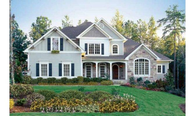 Eplans New American House Plan Country Aura Square Feet