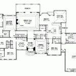Eplans New American House Plan Glorious Sunroom Square Feet