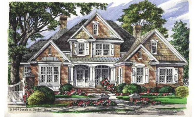 Eplans New American House Plan Haynesworth Square Feet