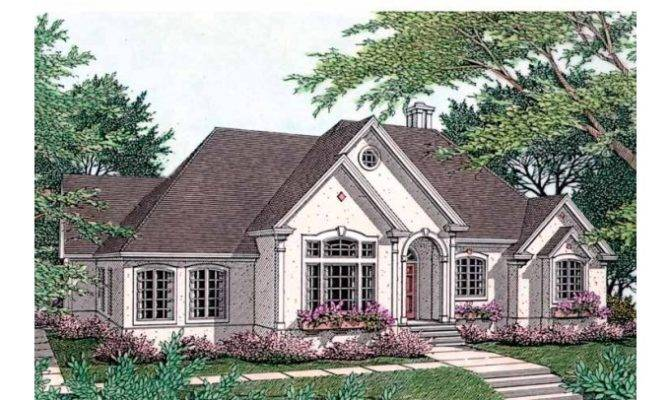 Eplans New American House Plan Luxurious French Country Cottage