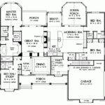 Eplans New American House Plan Luxurious One Story Living