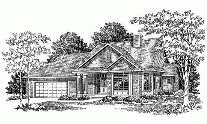Eplans New American House Plan Marvelous One Half Story