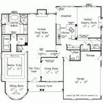 Eplans New American House Plan One Story Turret Square Feet