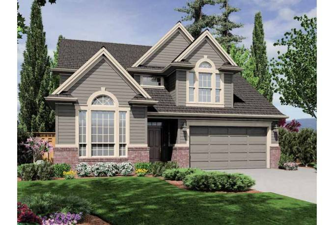 Eplans New American House Plan Traditional Home Shines