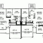 Eplans Ranch House Plan Charming Duplex Two Car Garage