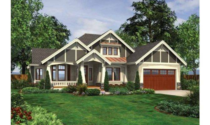 Eplans Ranch House Plan Dramatic Craftsman Front Porch