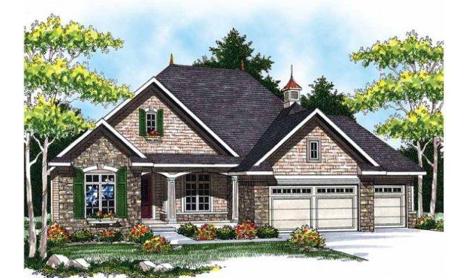 Eplans Ranch House Plan Quaint French Country Square
