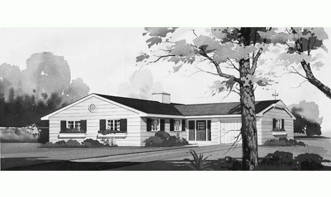 Eplans Ranch House Plan Shaped Home Square Feet