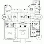 Eplans Southwest House Plan Hacienda Utmost Livability