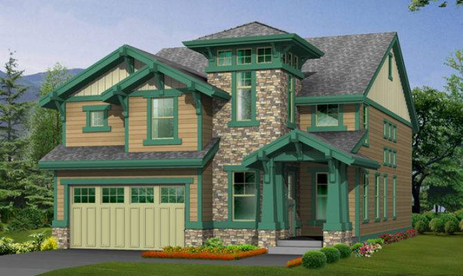 Etherton Arts Crafts Home Plan House Plans