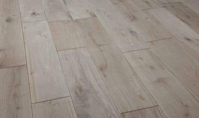 European French White Oak Engineered Hardwood Flooring Unfinished