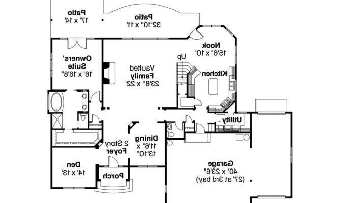 European House Plans Yorkshire Associated Designs