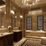 European Neoclassical Bathroom Design