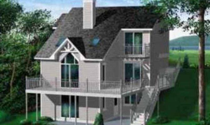 European Style House Plan Beds Baths