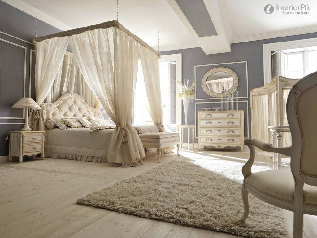 European Style Luxury Villa Romantic Bedroom Decoration Effect Chart