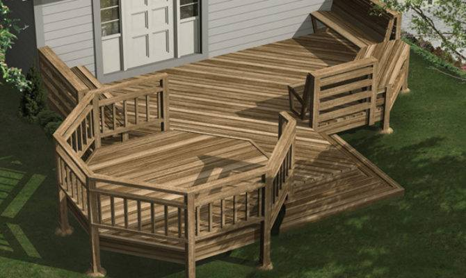 Evonne Deck Plan House Plans More