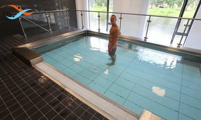 Ewac Medical Modular Pool Movable Swimming Floor