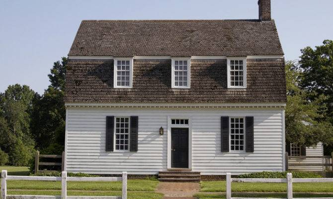 Ewing House Colonial Williamsburg Farmhouse Exterior