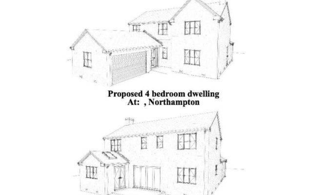 Example Building Plans Developer Bedroom Detached House
