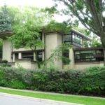 Example Frank Lloyd Wright Style Home Here Wnley