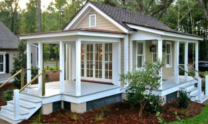 Excellent Guest House Plans Square Feet Grey Roof