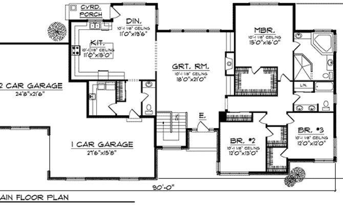Exceptional Large Ranch Home Plans House