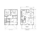Exceptional Square Home Plans Small House Floor