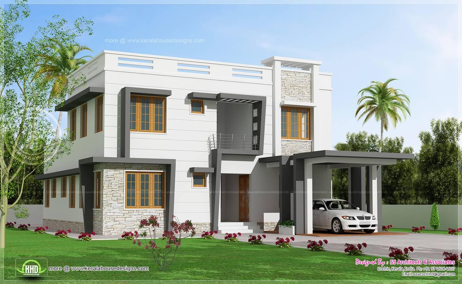 Exceptional Villa House Plans Modern Design Plan