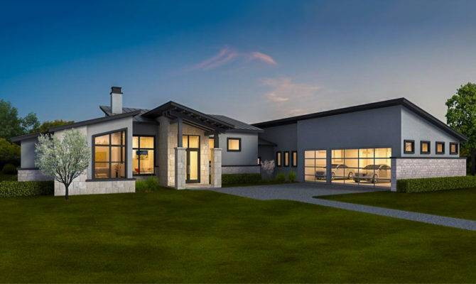 Exclusive Contemporary Ranch Home Law Apartment