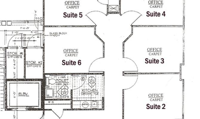 Executive Office Suite Layout