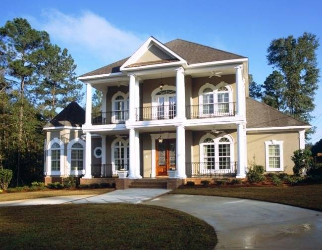 Exellent Home Design Colonial House
