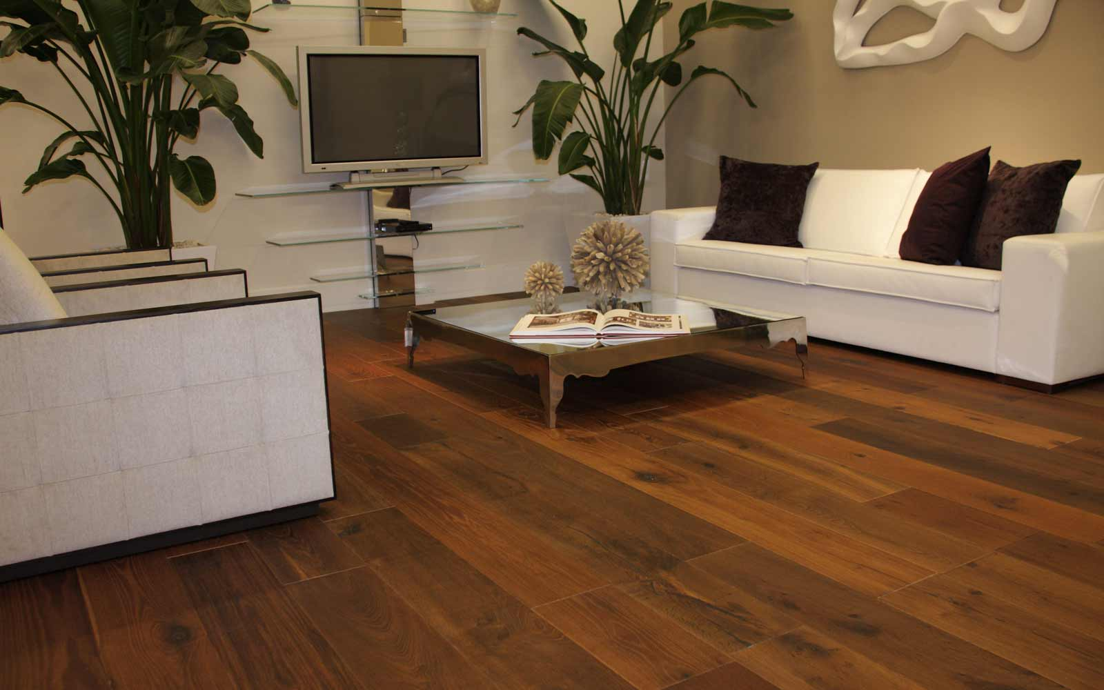 Exotic Brazilian Koa Home Flooring Design Chesnut