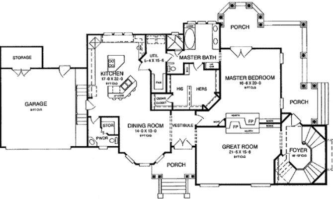 Expandable Victorian House Plan Architectural