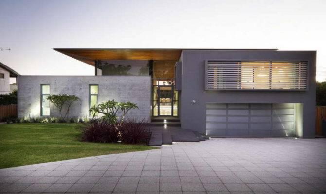 Exterior Concrete Home Plans Modern House Plan