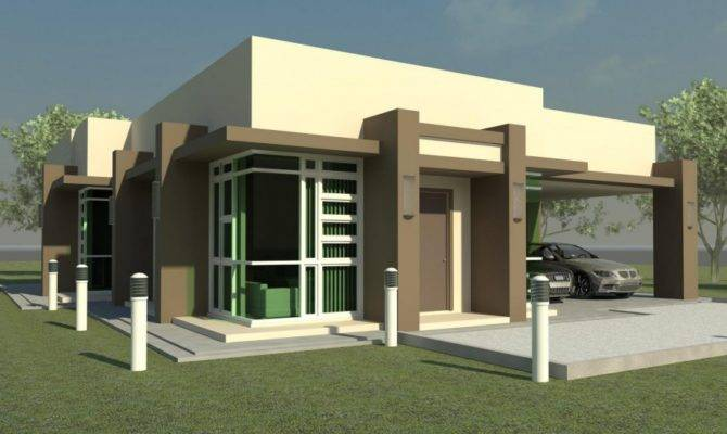 Exterior Design Modern Brown Cream Unique Small House Plans Can