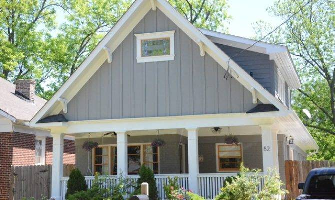 Exterior House Paint Contemporary Craftsman