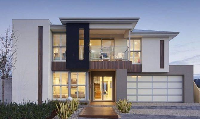Exterior Latest Home Design Modern Glamorous House