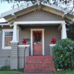 Exterior Paint Combinations Homes Small Stucco House