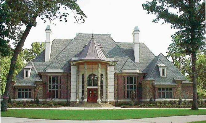 Extravagant Chateau Style Home Hwbdo Chateauesque